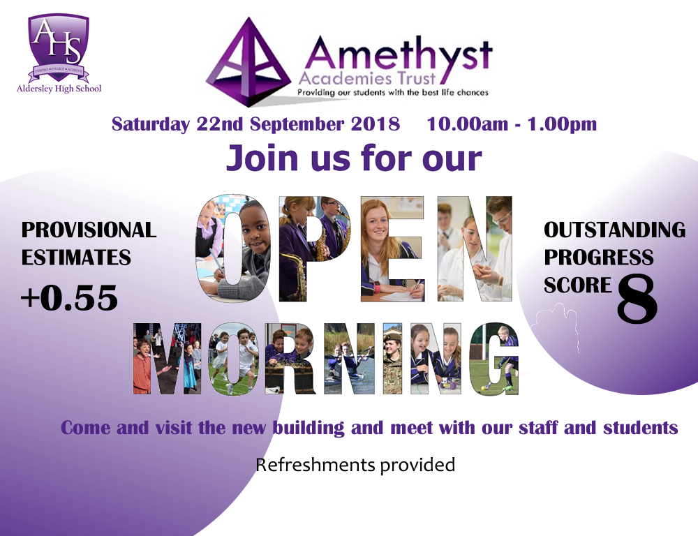 Aldersley High School Open Day