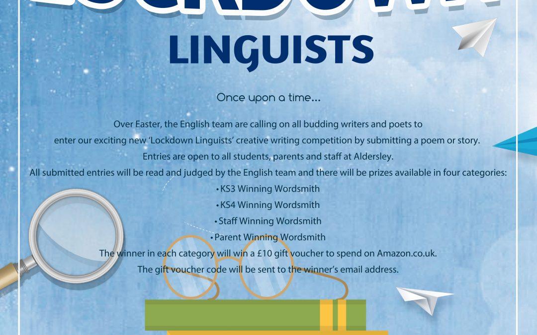 Lockdown Linguists Easter Challenge